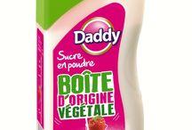 Packaging - Marketing / Description de packaging contenant du sucre type Daddy, Domino Sugar etc