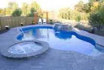 Unique Pools / A board containing some of our more unique designs