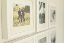 HOME - photo wall