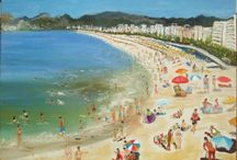 Summer Inspiration  / A collection of summer themed and uplifting paintings by Art2Arts Artists.