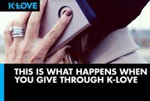 K-LOVE Pledge Drive Spring 2016 / by K-LOVE Radio
