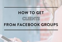 how to get client from face book