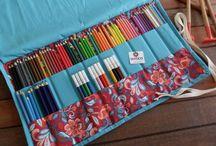 Pastelkovníky (colored pencils cases)