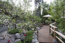 Terassit ja oleskelualueet / Mitä olisi puutarha ilman terassia ja viihtyisiä oleskelualueita?