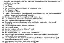 Journaling&Blogging