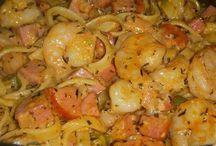 cajun shrimp and sausage pasta easy
