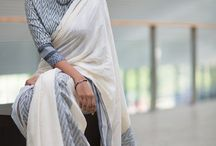 Creative  saree designs