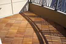 deck tile balconies / Balconies are where it all began.  We developed the very first interlocking flooring system for balconies and came up with Eco Decking Tiles interlocking series.  They became an outdoor winner and are now used around the world.  They are known to be the most robust interlocking deck tile system in the market today