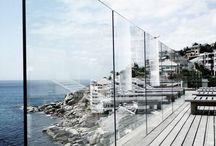 Cannes parapetto cristallo