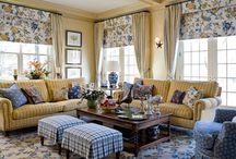 Living Room Ideas / by Robyn Burke