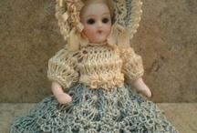 Мода для Mignonette, Bleuette и Antique Doll