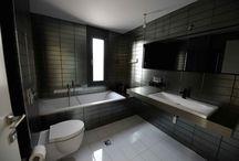 Μπάνια / Φωτογραφίες της Εταιρείας μας από διάφορα σπίτια.