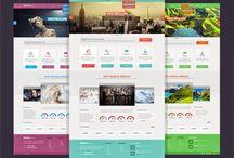 20 Best Free Template Website PSD File