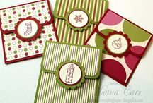 Gift card holders / Gift card holders