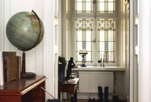 Globe in Your Home :: Interior Design / By the team from Bellerby & Co Globemakers, London.  High quality handmade world globes :: www.bellerbyandco.com / by Bellerby Globemakers
