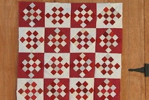 Quilting - Red & White Quilts / by Kathy Parks