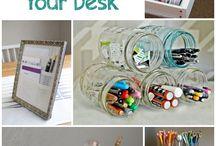diy work desk ideas