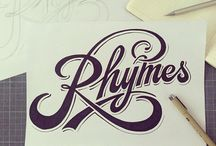 Lettering / by Ted Roberts