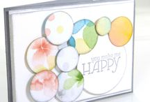 Craft Inspo - Happy Watercolor / Crafts Stampin' Up!