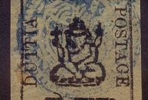 India - Duttia Stamps