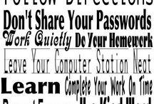 Computer Lab Bulletin Boards