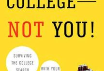 Books on College Admissions / Books about college admissions for students and/or parents.