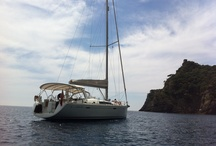 Onboard Sailing Yacht First Essential / Onboard our Beneteau Oceanis 50 Family 2011 in the French and Italian Rivieras as well as the Italian Ligurian Coast.