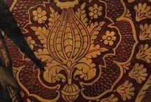 Орнаментальные мотивы цветок граната/чертополоха и пр. / Исторический орнамент эпохи ренессанса для композиции.
