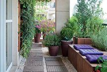 Terrazzo e giardino