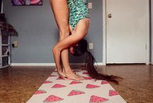 DAT MAT - Yoga Mats - Customer Shots / Awesome shots of Customers doing Yoga and Using DAT MAT Yoga Mats