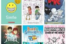 Book List: Graphic Novels / Graphic novels for all ages and subjects | homeschool or classroom library | book list | reading list