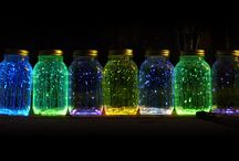 Glow in the Dark Parties / Create the perfect birthday party with these illuminating décor ideas!