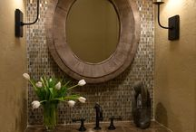 Bathroom ideas / by Trish Stegall
