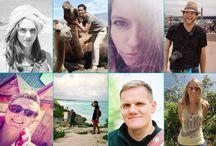 Reiseblogger / Reiseblogger berichten von ihren Trips rund um den Globus und geben Tipps zum Thema Packen und Reiseplanung.