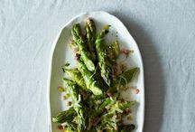 Asparagus Recipes // Spring Veggies / Asparagus recipes and ideas for using Foodie Dice™.