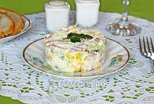 Салаты / Фотографии красивых салатов на сайте IamCOOK.RU