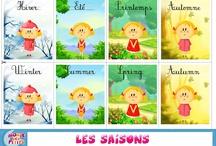 French - Vocab (Weather & Calendar) / by Jenn Campanella
