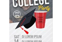 College Party promotional package