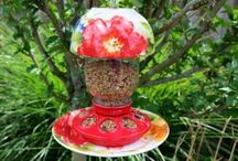 Mason Jar Bird Feeders / Please visit me at www.beaucadeau.ca for more information.