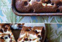 marble brownies/cakes