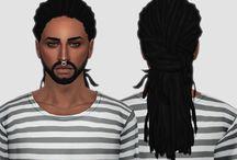 ts4- hair male