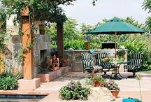 Outdoor Patio & Yard Ideas / by Jennifer Benjamin