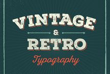 Vintage and Retro Typography