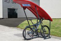Aparcabicicletas / Bike parking / Proporcione comodidad y seguridad a las personas que transitan por su ciudad con nuestros aparca bicicletas que además incitan a la reducción de uso de vehículos.
