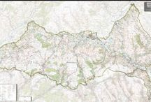 National Park Maps / A new series of maps from the Map Centre Press cover the national Parks of the UK