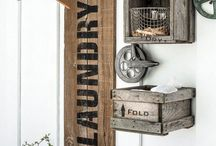Rustic/Industrial ideas