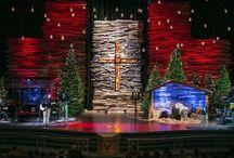 karácsonyi színpad