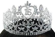 corona de quinceañera