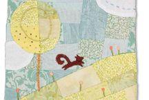 mini art quilt