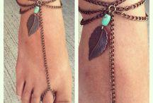 Inspiración - accesorios para pies